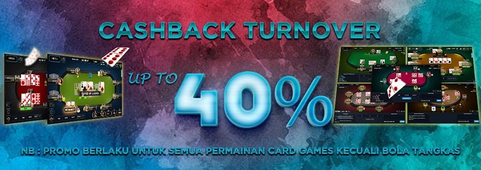 Cashback Turnover Up To 40% Playbet788